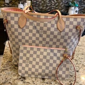 LV checkered never full mm
